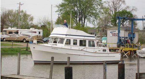 38 ft 1972 bristol 38 trawler with diesels