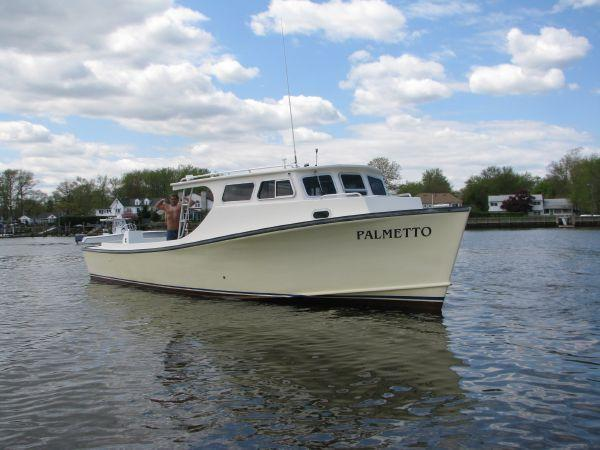 38 ft 2005 chesapeake downeast 38 deadrise w 620 hours