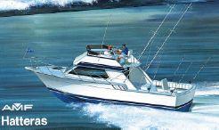 1987 Hatteras 32 Sport Fisherman Flybridge