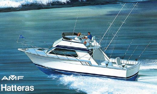 1987 Hatteras 32 Sport Fisherman Flybridge