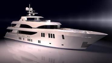 thumbnail photo 2: 2019 Ocean Alexander 155 Megayacht
