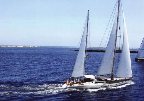 1988 One Design Trehard 27m. Ketch