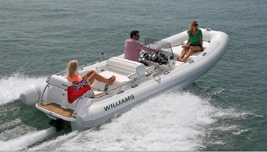 2018 Williams Jet Tenders Dieseljet 625 S