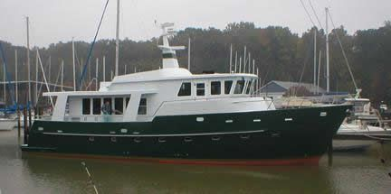 2017 Ruby Yachts Bruce Roberts Passagemaker 75