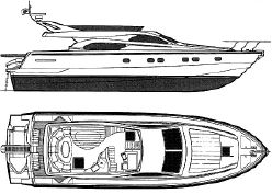 photo of  57' Ferretti Yachts 57