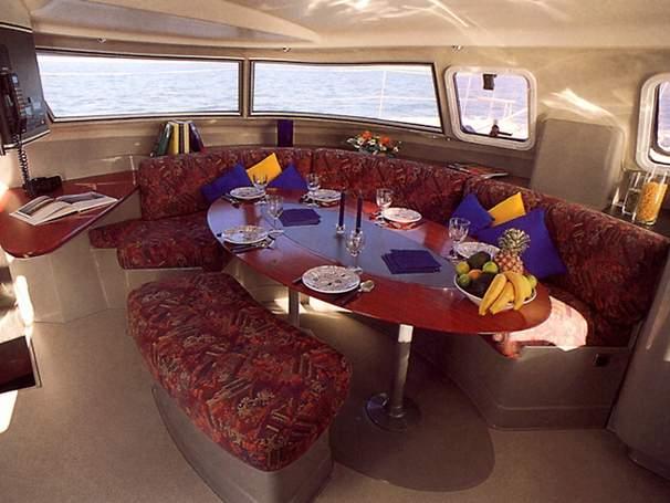 44' Fountaine Pajot Venezia 42+Master cabin closet