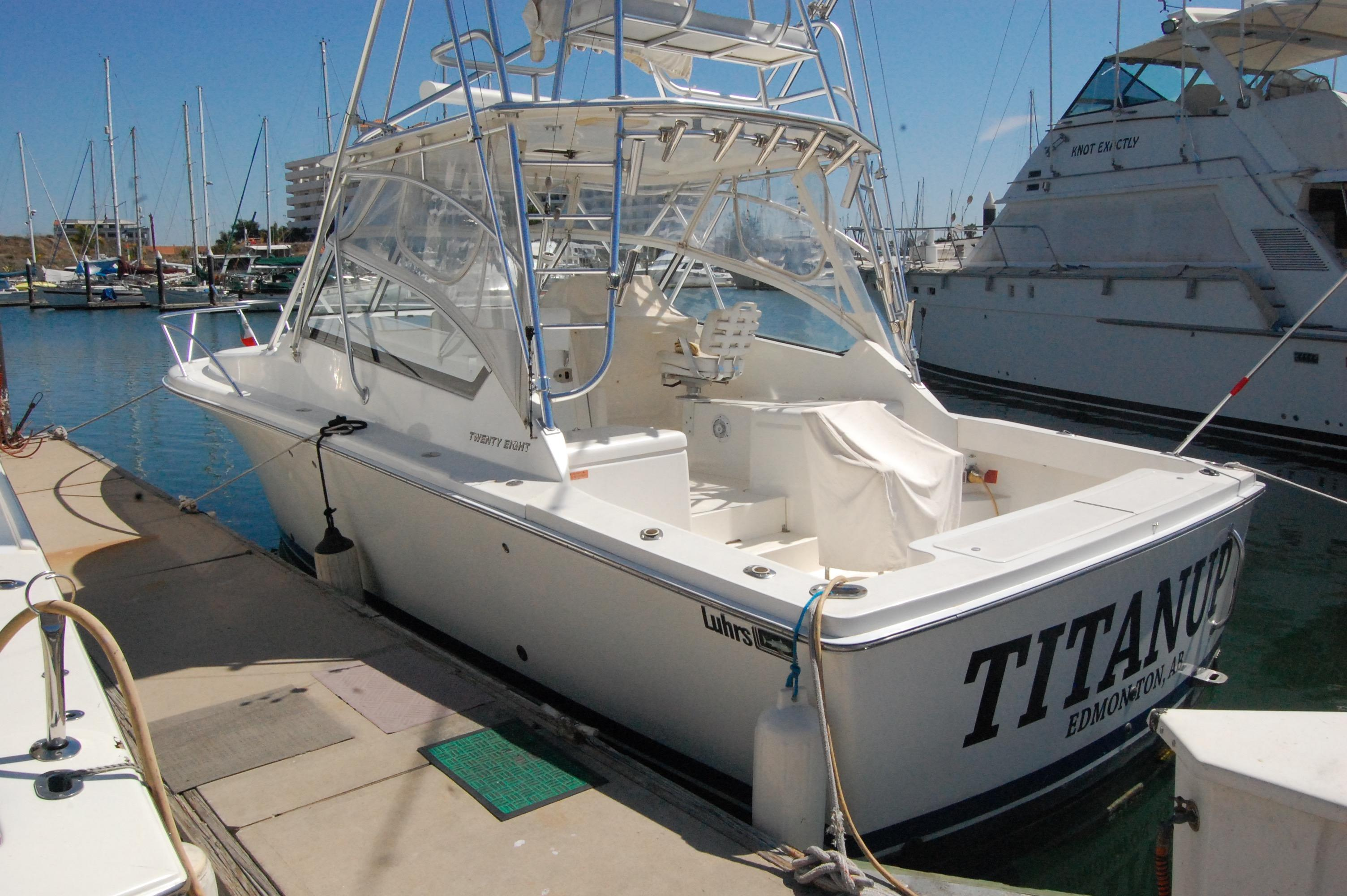 28' Luhrs 28 Open+Boat for sale!