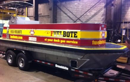 2013 Fuelbote 34 Tanker