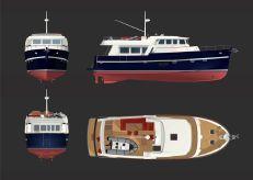 2015 Rhea Marine 57 Trawler