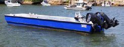 2018 Custom Sabrecraft Marine Barge