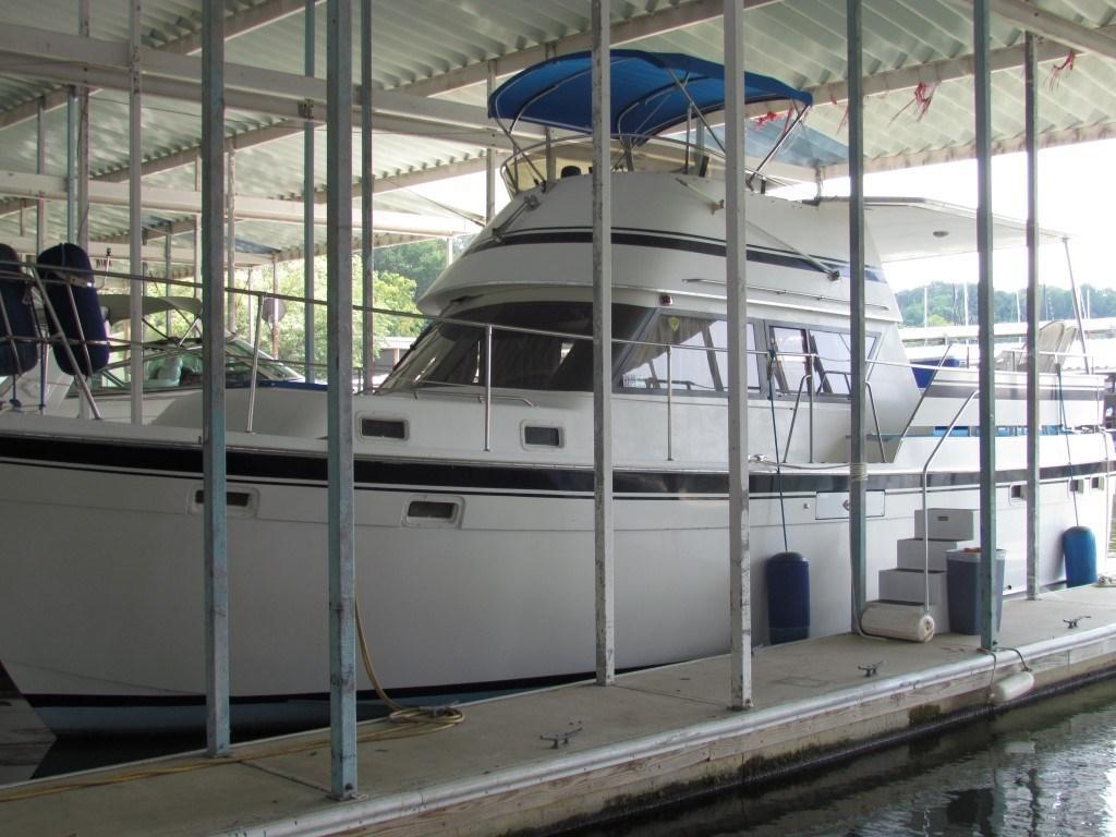 1981 Gulfstar 38 Sundeck Power Boat For Sale Www