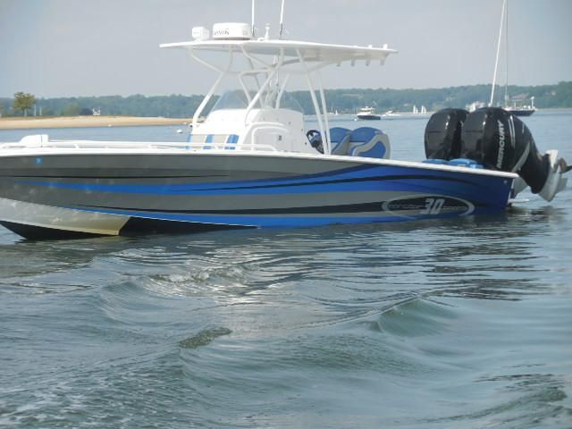 2014 concept boats 30 open deck
