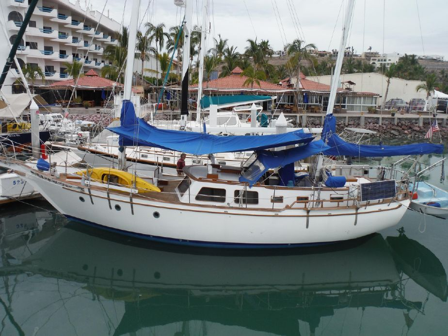 1981 Hudson Sea Wolf Ketch Sail Boat For Sale - www