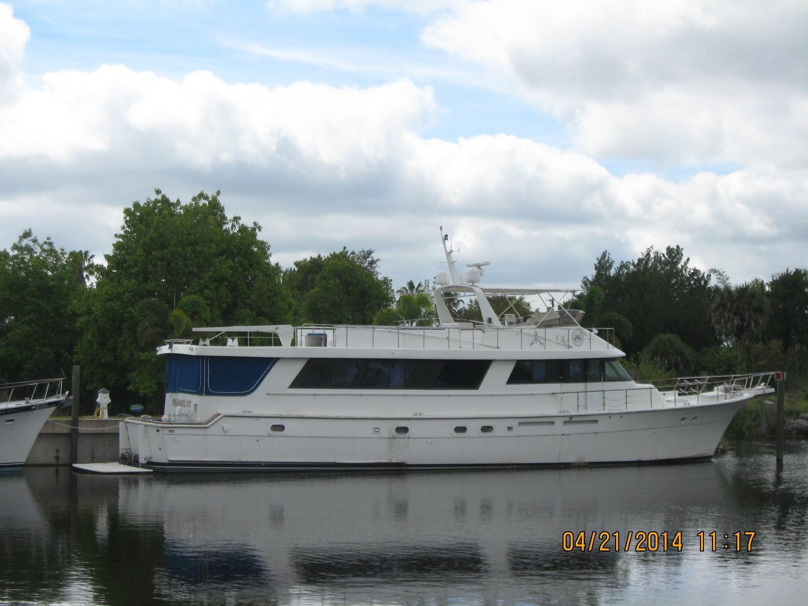 1985 hatteras cockpit motor yacht a motor barco en venta for 80 hatteras motor yacht