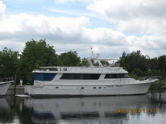 1985 Hatteras Cockpit Motor Yacht
