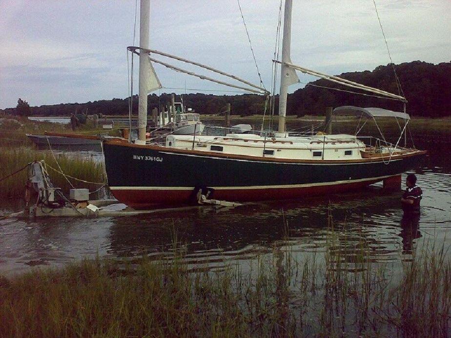 1978 Marine Innovators 32 Sandpiper Sharpie Sail Boat For Sale Www