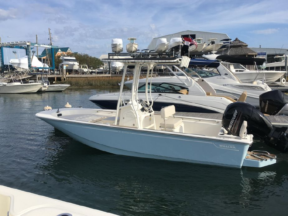 2019 Boston Whaler 190 Montauk Power Boat For Sale - www yachtworld com