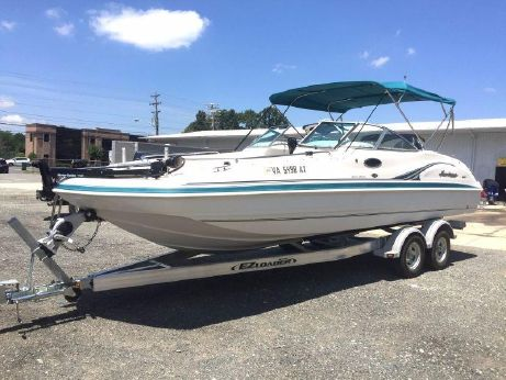 2001 Hurricane Fun Deck 237