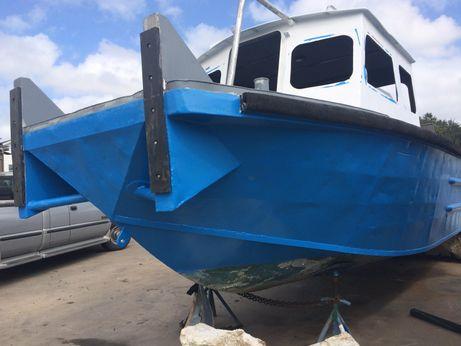 1976 Lafco Aluminum Crew Boat - 26' Push Boat