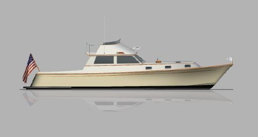 2014 Brooklin Boat Yard Eggemoggin 45' Flybridge