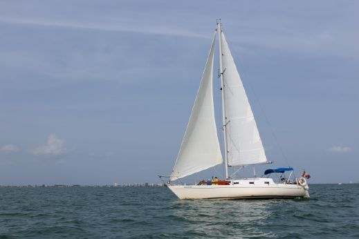 1984 Carter 35 Variable Draft Sloop