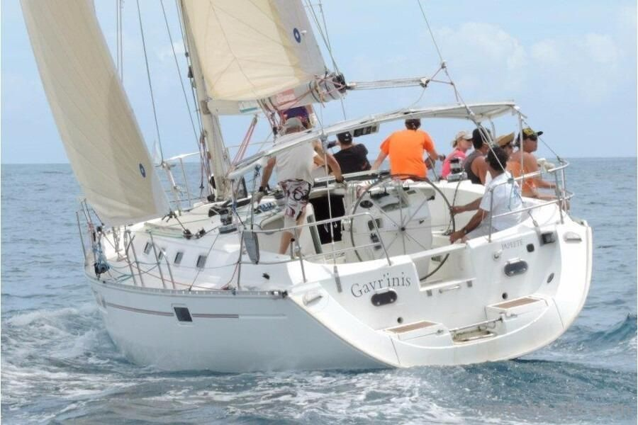 Solar Panels For Boats >> 1995 Beneteau Oceanis 440 Sail Boat For Sale - www ...