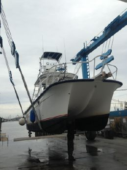 2000 Rood Marine power catamaran