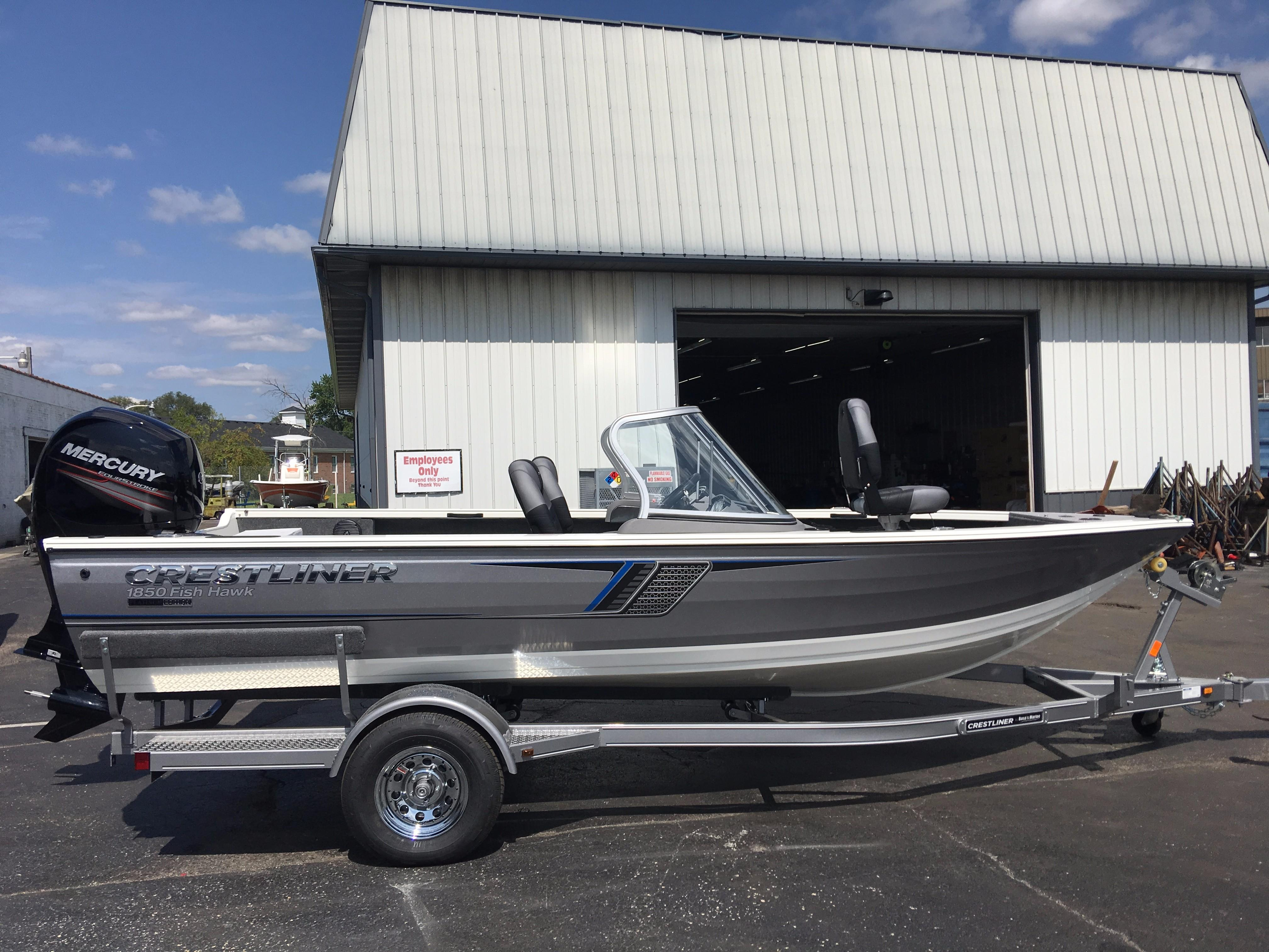2018 crestliner 1850 fish hawk wt power boat for sale www rh yachtworld com Trailer Wiring Harness Ford Wiring Harness Kits