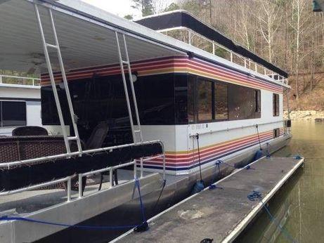 1999 Jamestowner 14 x 54 WB Houseboat