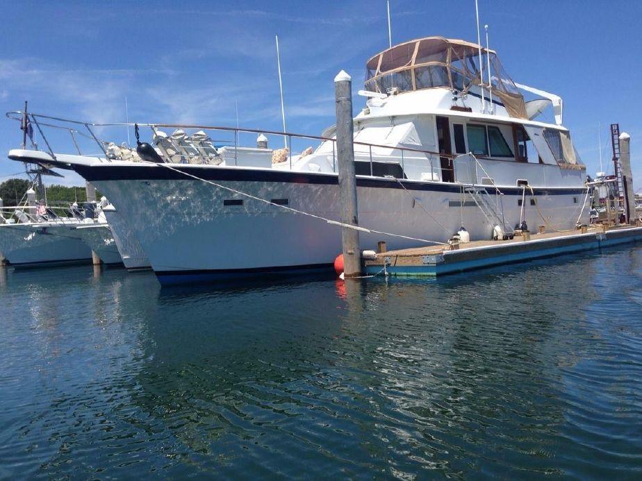 1982Hatteras 53 Motor Yacht
