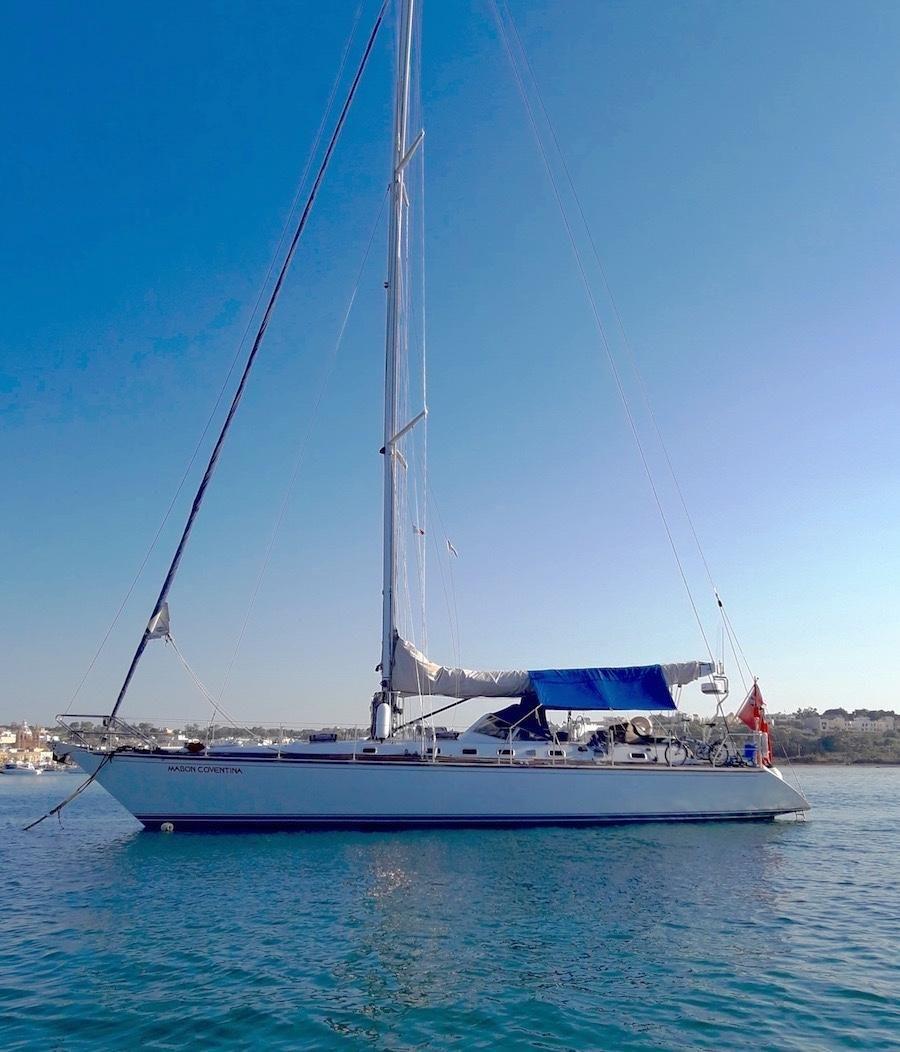 1989 van de stadt 52 sloop vela barca in vendita www for Malta materiale