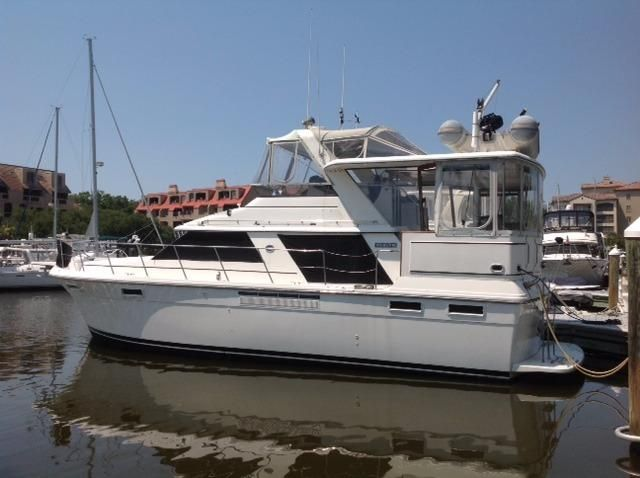1986 carver 4207 aft cabin motor yacht power boat for sale for Boat motors for sale in sc