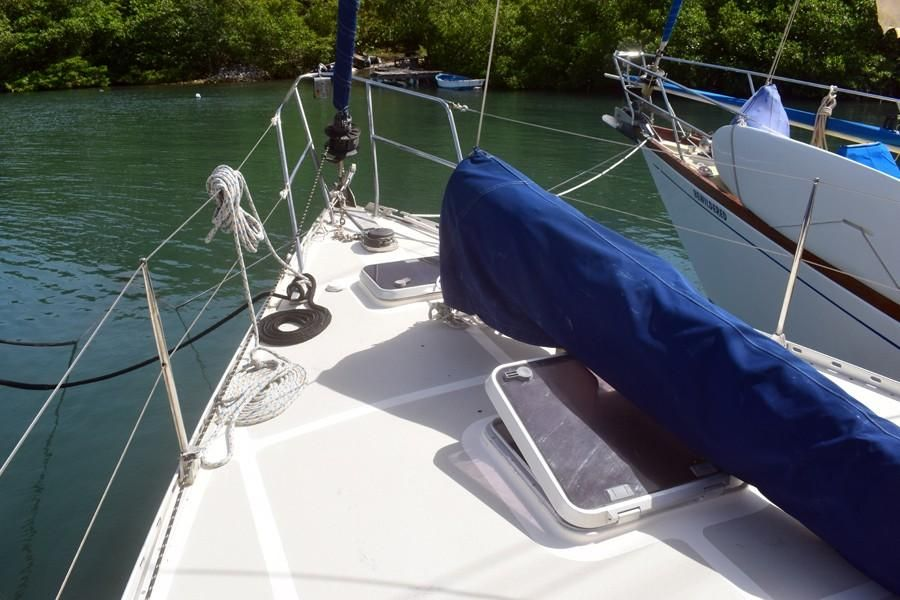 1997 Trident WARRIOR 40 Sail New and Used Boats for Sale -