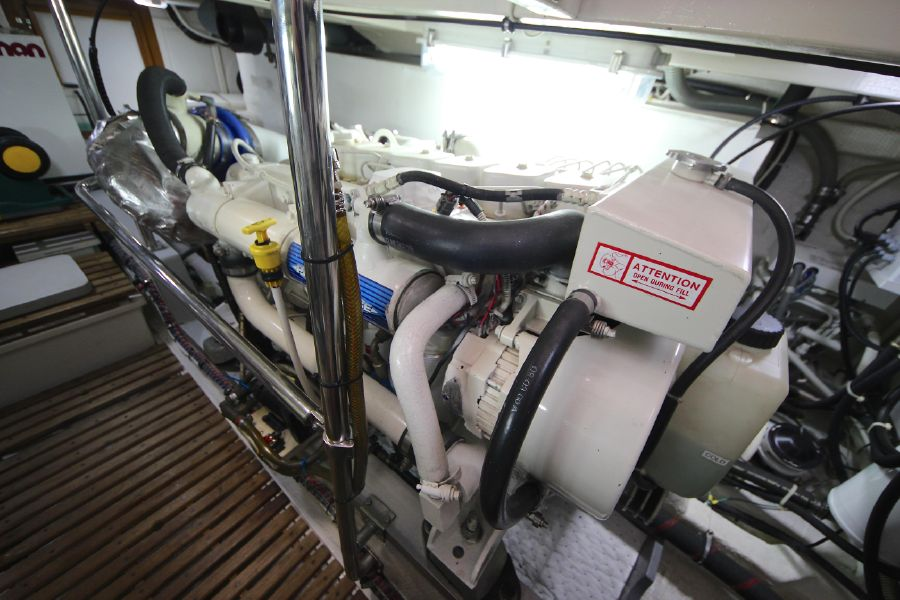Grand Banks 42 Europa Diesel Engine