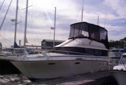 1990 luhrs 3400 motor yacht power boat for sale www for Motor yachts for sale near me
