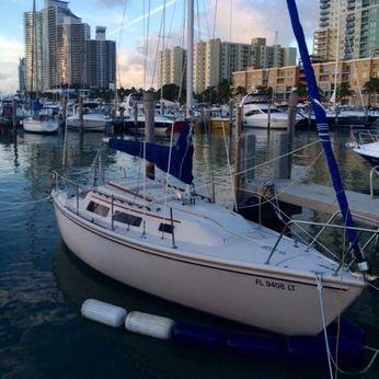 1986 Catalina 25 swing keel