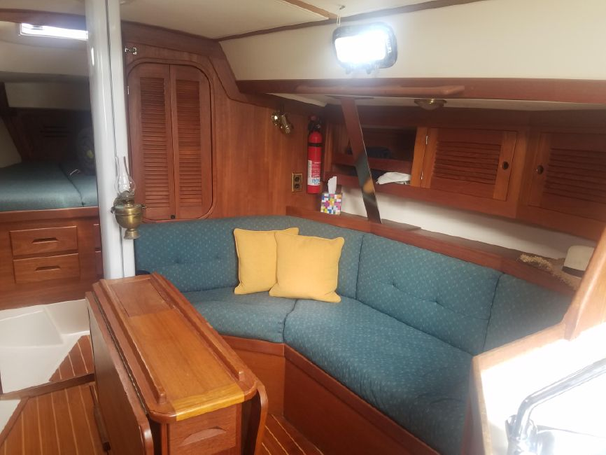 Tartan 3500 Sailboat Salon