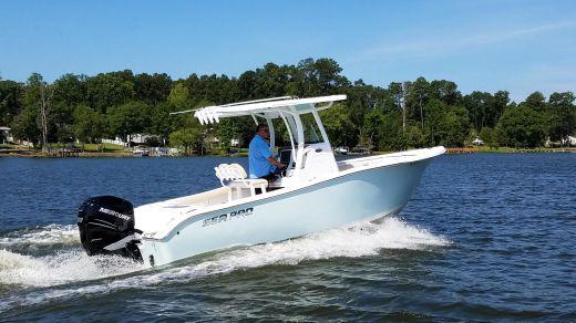 2018 Sea Pro 239 Deep V Center Console
