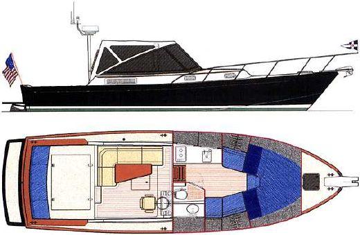 2000 Little Harbor WhisperJet 38