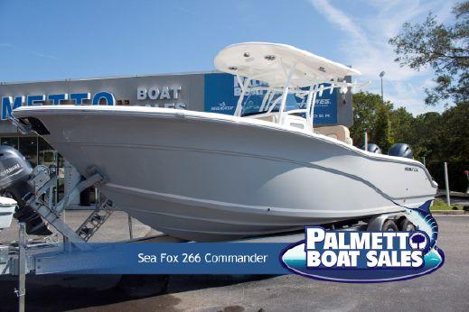 2018 Sea Fox 266 Commander
