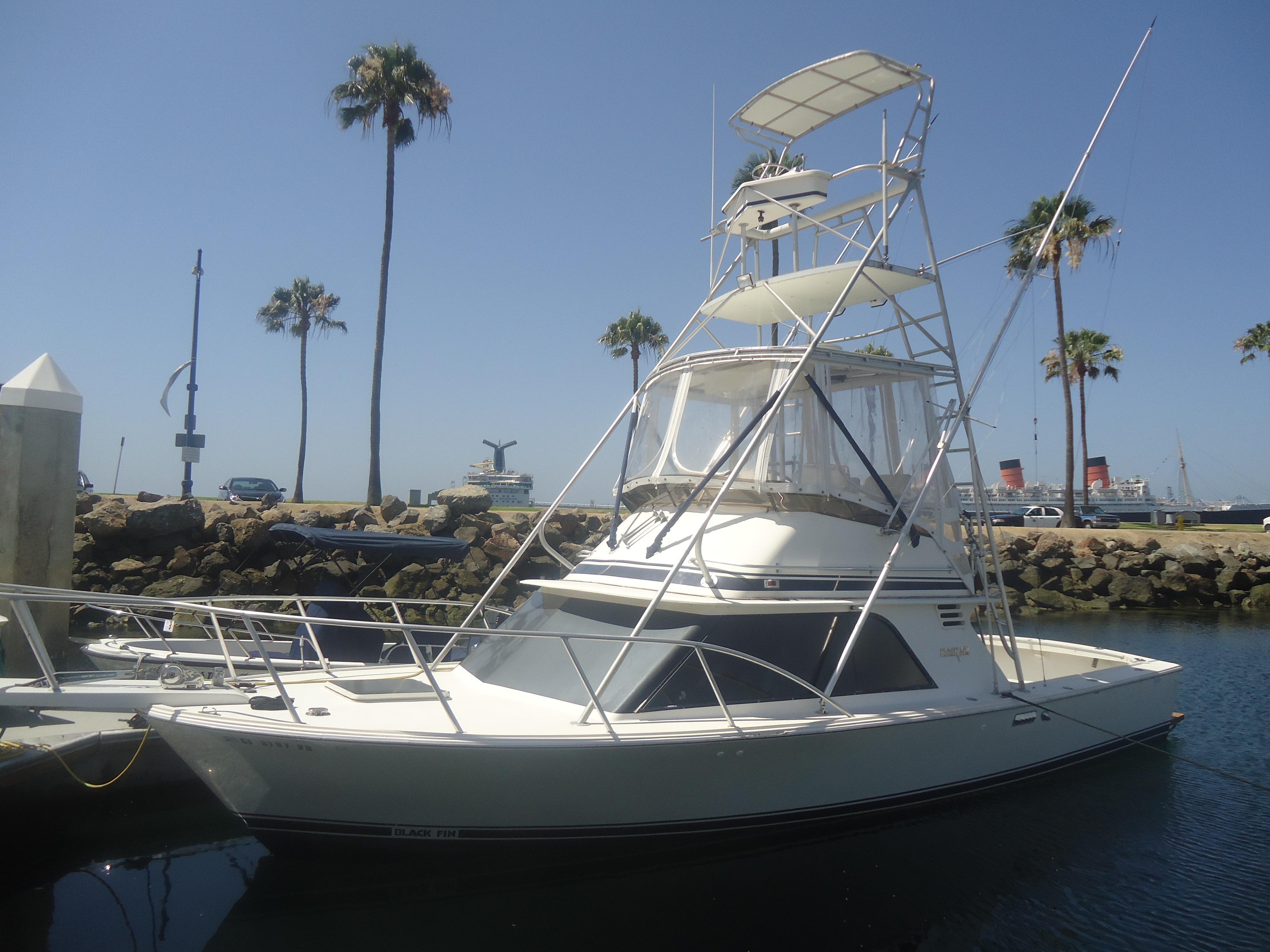 32 ft 1988 blackfin 32 sportfisherman