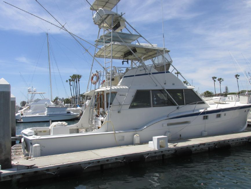 1979 Hatteras 53 Convertible Sportfisher for sale in Newport Beach CA