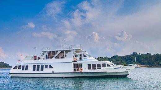 1987 36.5 M Motor Yacht 120' Customized Passenger Ferry