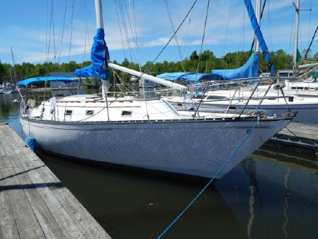 1979 Hunter 37' Cherubini Cutter