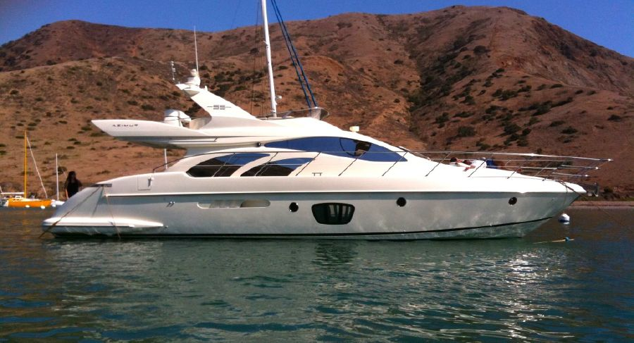 Azimut 55e Flybridge Yacht for sale in Marina Del Rey