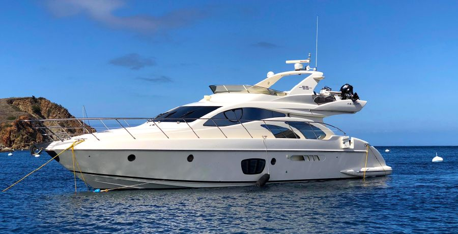 Azimut 55e Flybridge Yacht for sale in Los Angeles