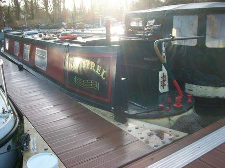 1987 Narrowboat 45ft Semi Trad