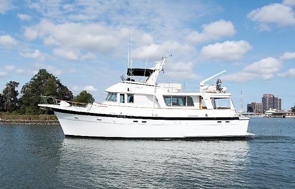 1977 Hatteras Long Range Cruiser Power Boat For Sale - www