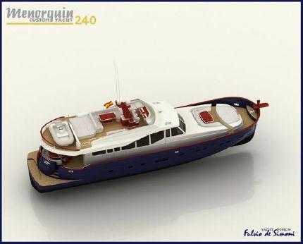 2008 Menorquin Custom Yacht 240