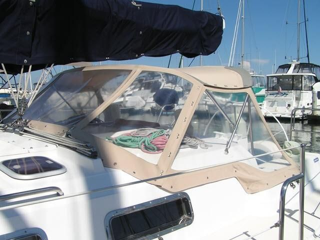 Freedom Yachts Dodger Canvas